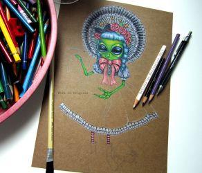 Alien Lolita WIP
