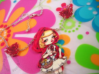 Red Hood Necklace