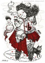 Punk Goth Witch