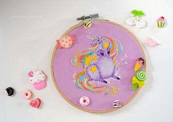 Unicorn with Candy