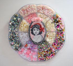 Lady Cross stitch