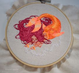 Orange Mermaid