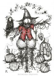 Cocktober25-Scarecrow