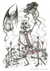 Cocktober5-Skeleton