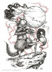Cocktober7-Werewolf