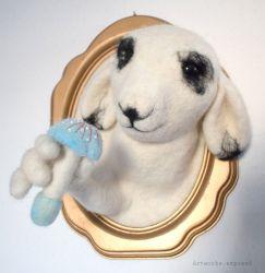 Felt Sheep