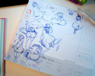 Mousepad Doodles