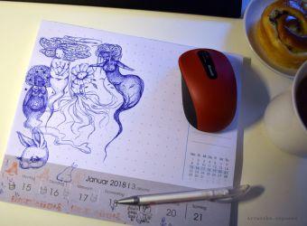 Mousepad Muses