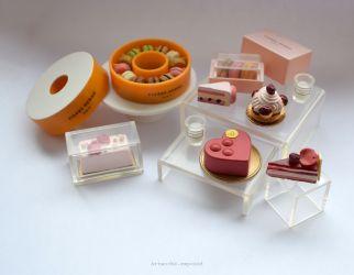 Pierre Herme Cakes