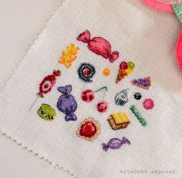 Stitchtember14-Bubblegum&GummyWorm