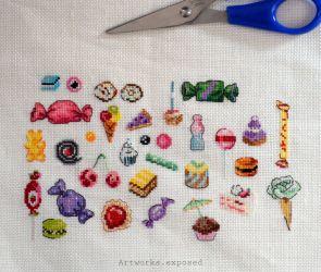 Stitchtember27-YellowCandy