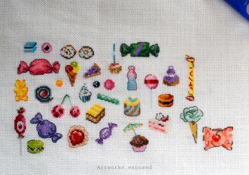 Stitchtember28-WrappedCherryCandy