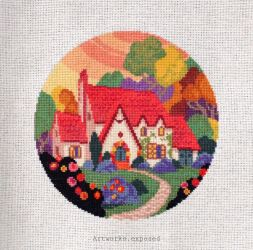 House Cross stitch